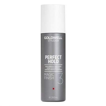 Спрей за фиксация и блясък без аерозол Goldwell StyleSign Perfect Hold Magic Finish Non-aerozol Hair Spray 200ml