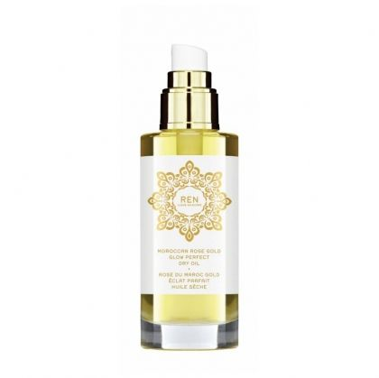 Сухо масло за тяло и коса Moroccan Rose Gold Glow Perfect Dry Oil by REN