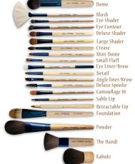 Четка за уплътняване на сенки за очи Chisel Shader Brush by Jane Iredale