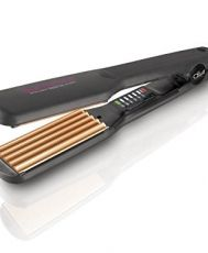 Преса за обем и блясък в косите Diva Professional Feel the Heat Intelligent Digital Argan Crimper