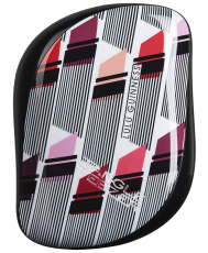 Професионална четка за коса Lulu Guinness Vertical Lipstick Print от серията Compact Styler by Tangle Teezer (Limited Edition)