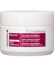 Маска за боядисана коса Goldwell Dualsenses Color Brilliance 60sec Treatment 200мл