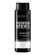 Безамонячна боя за покриване на бели коси за мъже Redken Brews Men's Color Camo Hair Dye 60ml